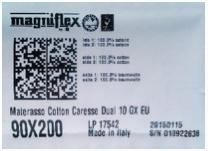 kod kreskowy Magniflex